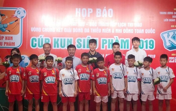 28 đội bóng tranh tài ở VCK Giải bóng đá Thiếu niên và Nhi đồng toàn quốc