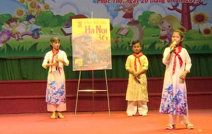 Lan tỏa tình yêu Hà Nội qua hội thi Thiếu nhi tuyên truyền, giới thiệu sách