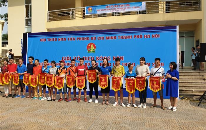 Khai mạc giải Vô địch bóng bàn thiếu niên, nhi đồng Thủ đô mở rộng năm 2019