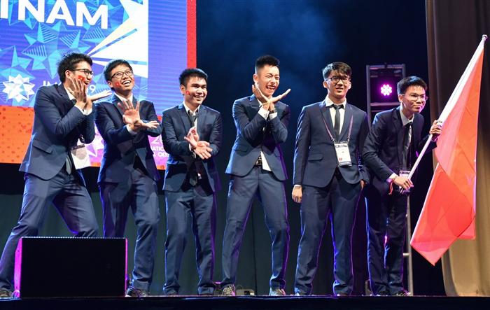 Cả 6 học sinh Việt Nam đều đoạt huy chương tại Olympic Toán quốc tế 2019