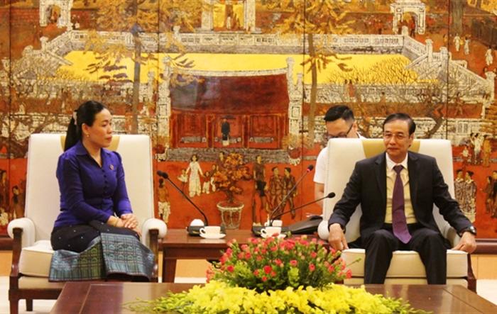 Lãnh đạo TP Hà Nội tiếp Đoàn đại biểu Thành đoàn Viêng Chăn