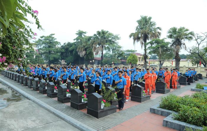 Nhiều hoạt động của tuổi trẻ Hà Nội kỷ niệm Ngày Thương binh liệt sỹ