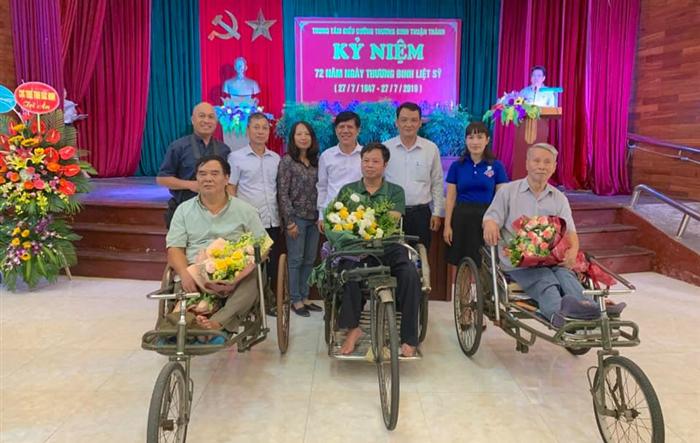 Tuổi trẻ VNPT Hà Nội trao yêu thương đến thương, bệnh binh