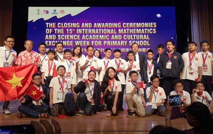 Hà Nội đăng cai tổ chức thi Olympic Toán học và khoa học quốc tế