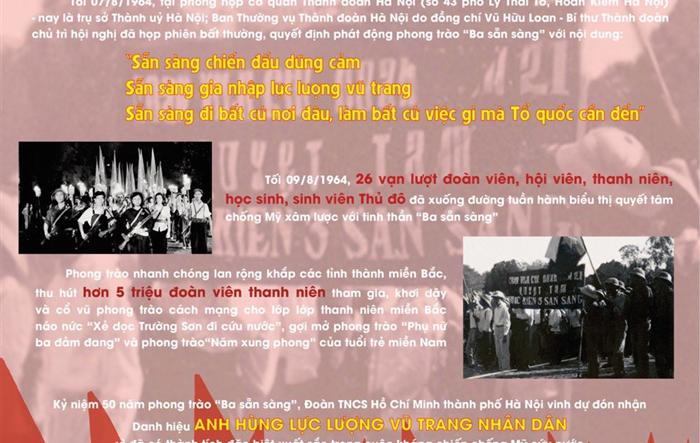 """55 năm phong trào """"Ba sẵn sàng"""": Bản hùng ca bất diệt luôn rực cháy"""