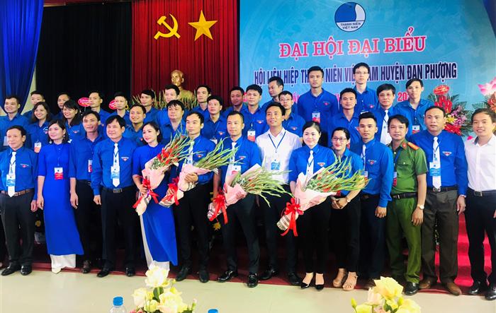 Anh Bùi Thái Sơn trở thành tân Chủ tịch Hội LHTN huyện Đan Phượng