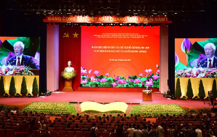 Lễ Quốc gia 50 năm thực hiện Di chúc của Chủ tịch Hồ Chí Minh