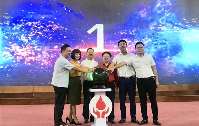 Phát động hiến máu tình nguyện trong khối trường học  năm học 2019 - 2020