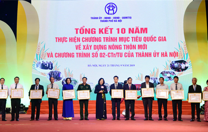 Hà Nội tổng kết 10 năm xây dựng nông thôn mới