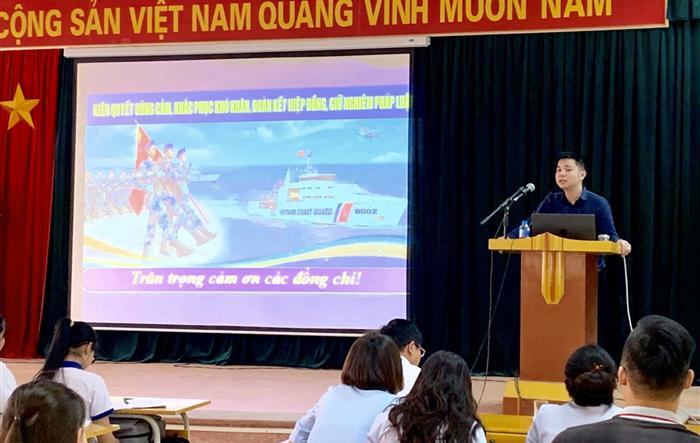Tuyên truyền về biển, đảo và Luật biển Việt Nam cho đoàn viên thanh niên