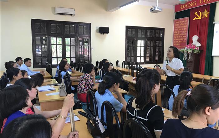 Huyện Sóc Sơn: Tập huấn kỹ năng, nghiệp vụ công tác Đội và phong trào thiếu nhi  năm học 2019 - 2020
