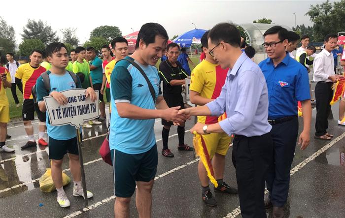Khai mạc Giải bóng đá thanh niên huyện Thanh Trì năm 2019