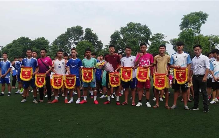 Sôi nổi giải bóng đá Tân sinh viên Khóa 52 HUPES
