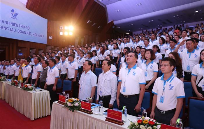 Long trọng Khai mạc phiên thứ nhất Đại hội Hội LHTN Việt Nam thành phố Hà Nội