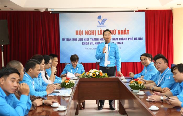 Anh Nguyễn Đức Tiến trở thành Tân Chủ tịch Hội LHTN TP Hà Nội