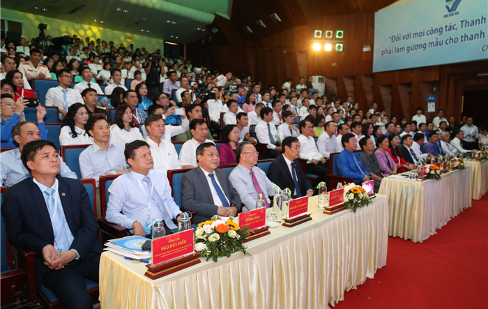 Phiên trọng thể Đại hội Hội LHTN Việt Nam thành phố Hà Nội lần thứ VII