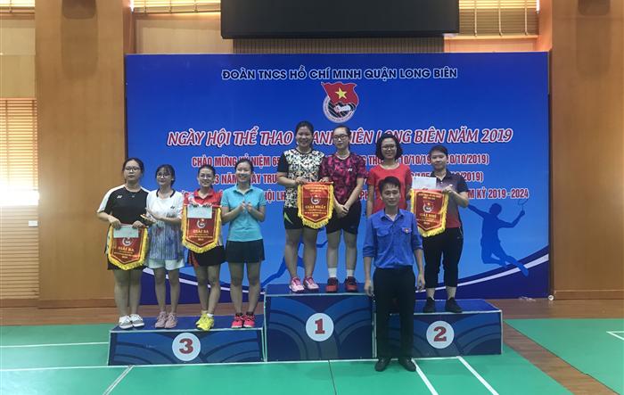 Sôi động ngày hội thể thao thanh niên Long Biên 2019