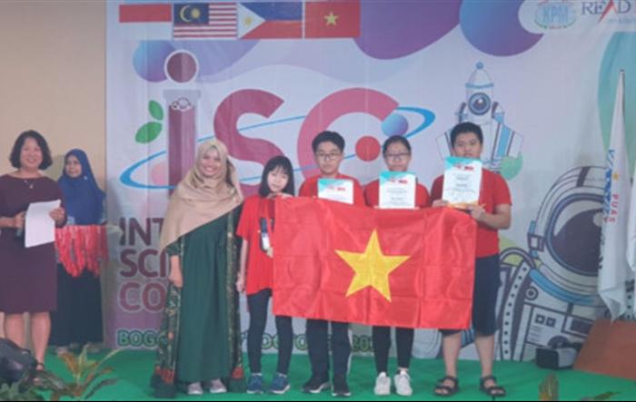 Học sinh Việt Nam đoạt 39 huy chương tại cuộc thi Khoa học quốc tế ISC 2019