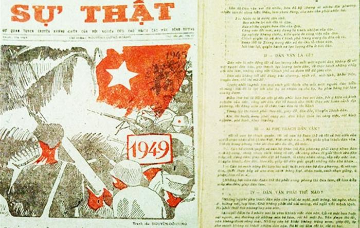 """Tác phẩm """"Dân vận"""" của Bác Hồ mãi soi đường cho công tác dân vận của Đảng"""