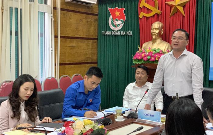 Thành đoàn Hà Nội triển khai chế độ đi công tác cơ sở của cán bộ Thành đoàn năm 2019