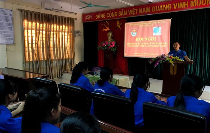 Tuổi trẻ Quốc Oai: Xây dựng hình mẫu thanh niên Việt Nam thời đại mới
