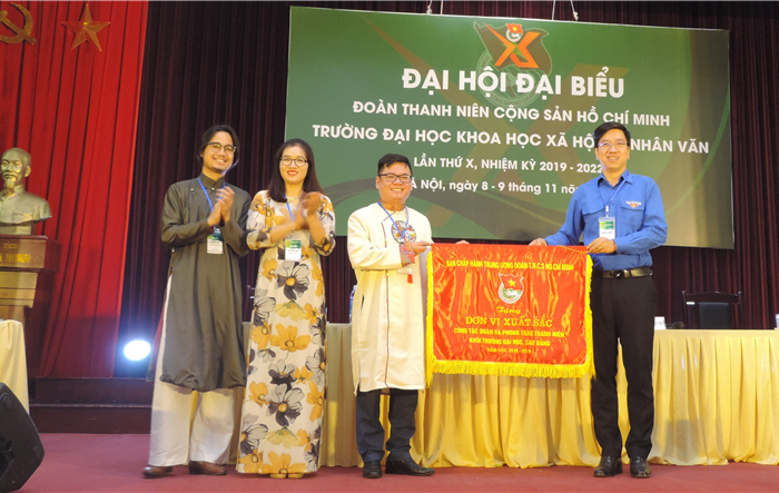 Anh Trần Bách Hiếu tái cử chức danh Bí thư Đoàn trường Nhân văn