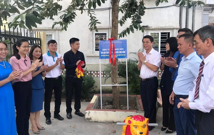 """Quận Nam Từ Liêm: Khánh thành """"Sân chơi thiếu nhi – Vì sức khỏe cộng đồng"""""""
