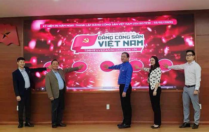 """Tuổi trẻ Thủ đô hưởng ứng cuộc thi """"Tìm hiểu về Đảng Cộng sản Việt Nam"""""""