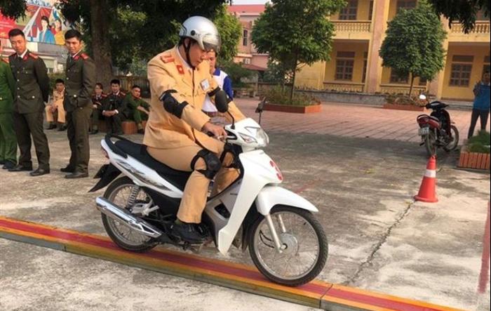 """Sôi nổi Ngày hội """"Thanh niên với văn hóa hoá giao thông"""" của tuổi trẻ Phú Xuyên"""