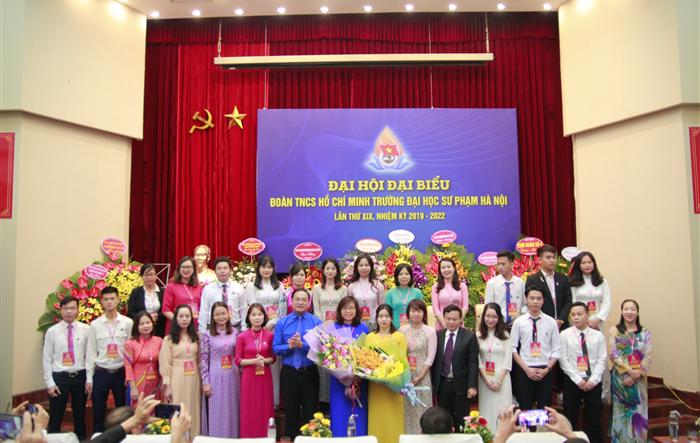 Đại hội đại biểu Đoàn Thanh niên trường Đại học Sư phạm Hà Nội lần thứ XIX, nhiệm kỳ 2019-2022 thành công rực rỡ - đặt ra nhiều mục tiêu mới