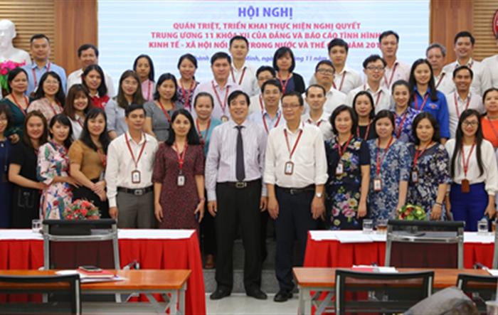 ĐTN ĐH Ngoại thương: Hội nghị học tập, quán triệt, triển khai thực hiện Nghị quyết Trung ương 11 khóa XII của Đảng