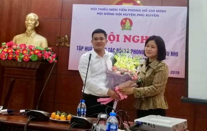 Huyện Phú Xuyên: Tập huấn kỹ năng, nghiệp vụ cho cán bộ Đội