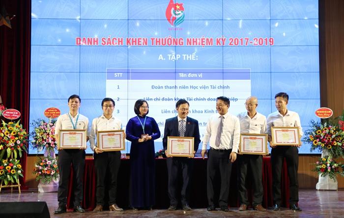 Đại hội Đại biểu Đoàn TNCS Hồ Chí Minh Học viện Tài chính  khóa VIII, nhiệm kỳ 2019-2022 đặt ra nhiều mục tiêu mới