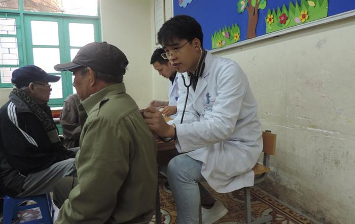 Tuổi trẻ Hoàn Kiếm tình nguyện vì sức khỏe cộng đồng
