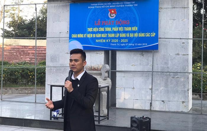 Huyện đoàn Thanh Trì tổ chức Lễ phát động thực hiện công trình, phần việc thanh niên