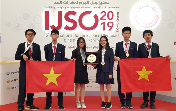Học sinh Hà Nội đạt thành tích cao tại kỳ thi Olympic Khoa học trẻ quốc tế IJSO 2019
