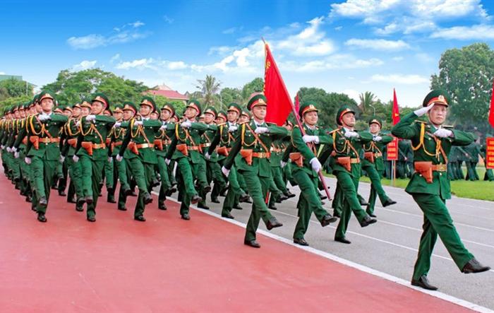 75 năm QĐND Việt Nam anh hùng vững bước dưới lá cờ vinh quang của Đảng