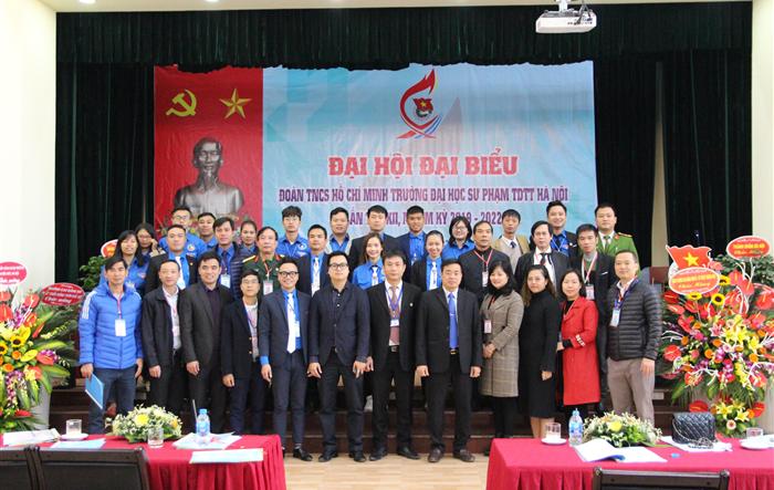 Đại hội đại biểu Đoàn TNCS Hồ Chí Minh trường Đại học Sư phạm TDTT Hà Nội lần thứ XII, nhiệm kỳ 2019 - 2022