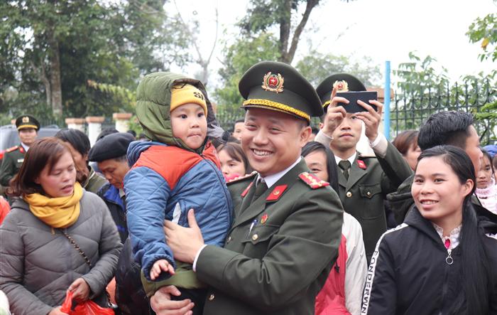 Hành trình tình nguyện mùa đông năm 2019 của Tuổi trẻ Công an Thủ đô
