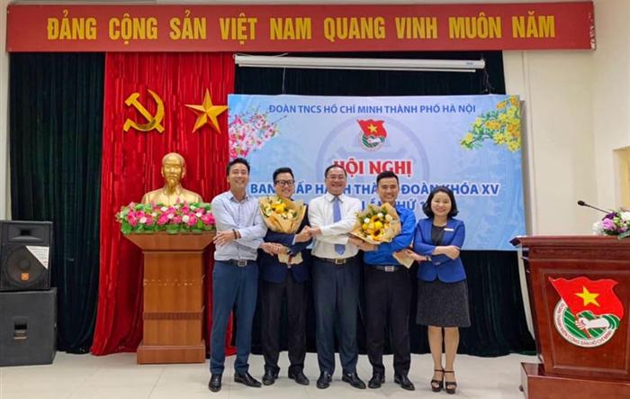 Đoàn TNCS Hồ Chí Minh thành phố Hà Nội có thêm 2 tân Phó Bí thư