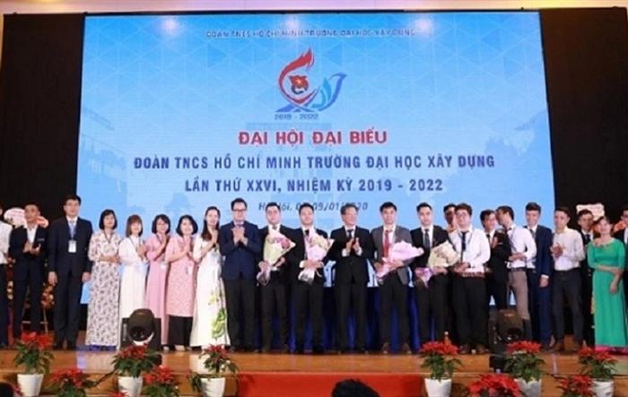 Đại hội đại biểu Đoàn TNCS Hồ Chí Minh trường Đại học Xây dựng khóa 26