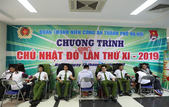 10 hoạt động tiêu biểu năm 2019 của Đoàn Thanh niên Công an thành phố Hà Nội