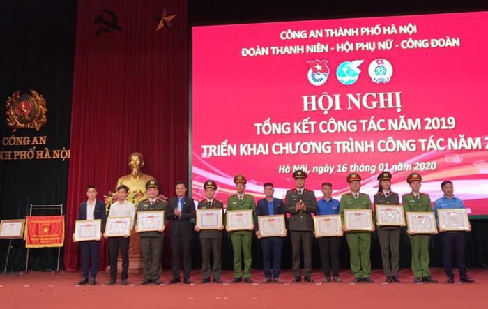 Công an thành phố Hà Nội tổng kết công tác đoàn thể năm 2019