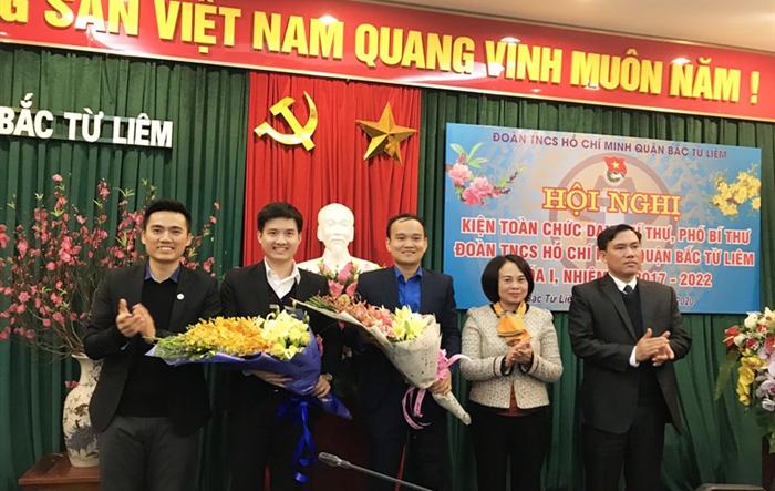 Đồng chí Nguyễn Đức Ngọc được bầu làm Bí thư Quận đoàn Bắc Từ Liêm