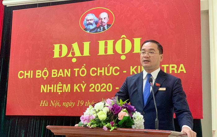 Chuẩn bị tốt nguồn lực tiến tới Đại hội Đảng bộ cơ quan Thành đoàn Hà Nội
