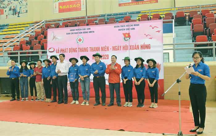 Huyện đoàn Sóc Sơn: Khởi động Tháng Thanh niên với nhiều hoạt động thiết thực, ý nghĩa