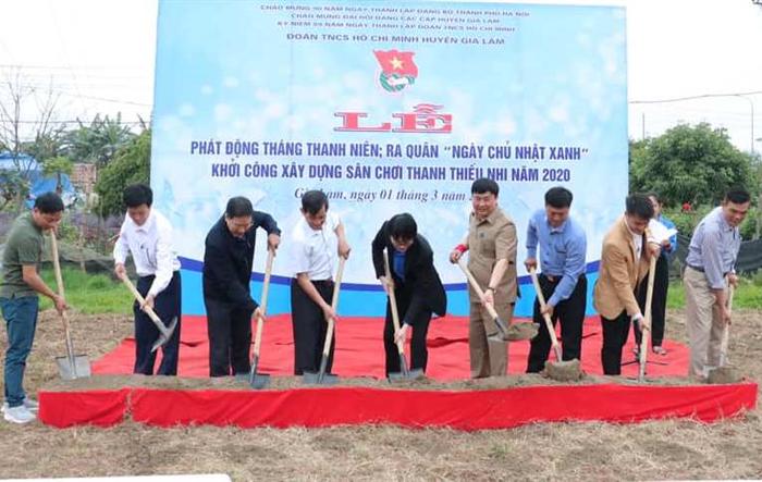 Quà tổ chức Đoàn tặng thiếu nhi xã Kim Sơn