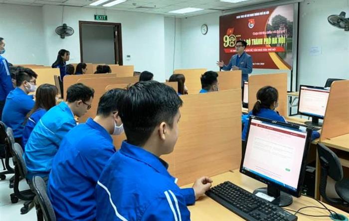 Mở cổng thi trực tuyến tìm hiểu lịch sử 90 năm Đảng bộ thành phố Hà Nội