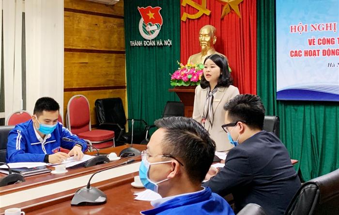 Đoàn Thanh niên thành phố Hà Nội: Đẩy mạnh hoạt động phòng chống dịch Covid-19