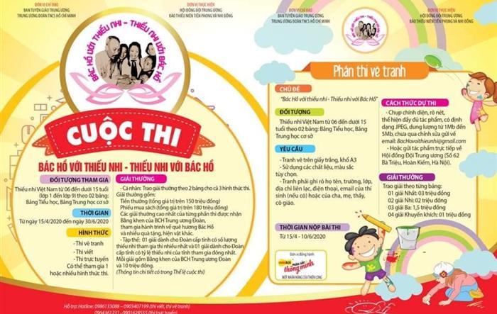 Hội đồng Đội huyện Ứng Hòa phát động các cuộc thi dành cho thiếu nhi